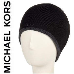 🚨NEW Michael Kors Reversible Knit Beanie Cap